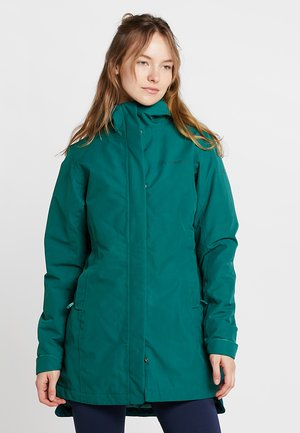 WOMENS CYCLIST PADDED - Parka - petroleum