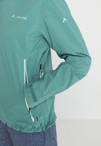 Vaude - SIMONY JACKET - Impermeabile - nickel green - 6