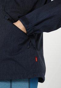 Vaude - WO ROSEMOOR JACKET - Hardshell jacket - eclipse - 6