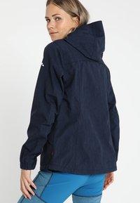 Vaude - WO ROSEMOOR JACKET - Hardshell jacket - eclipse - 2