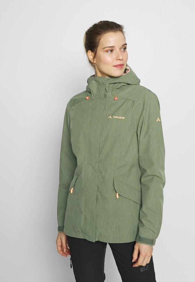 WO ROSEMOOR JACKET - Hardshell jacket - cedar wood