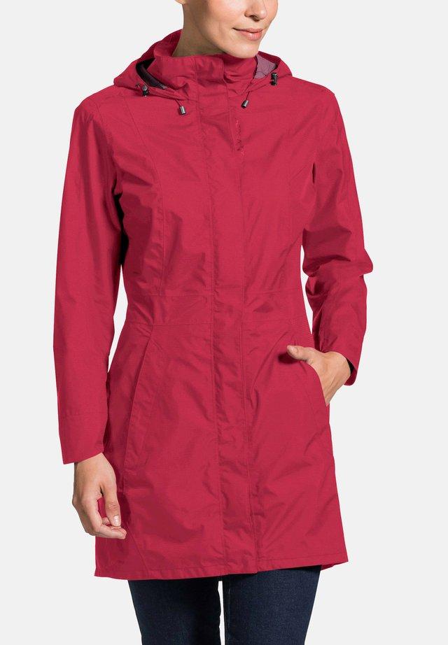 KAPSIKI - Hardshell jacket - red cluster