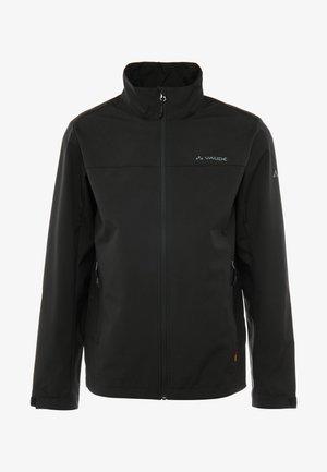 HURRICANE - Softshellová bunda - black
