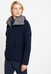 Vaude - WOMENS MINEO REVERSIBLE JACKET - Fleece jacket - eclipse - 0