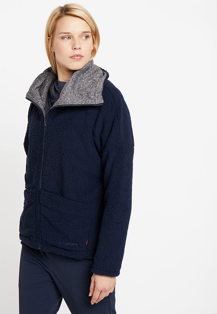 Vaude - WOMENS MINEO REVERSIBLE JACKET - Fleece jacket - eclipse