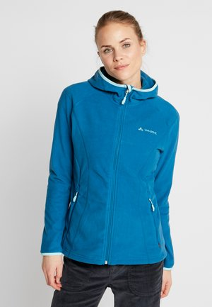 ROSEMOOR HOODED JACKET - Fleecejakker - kingfisher