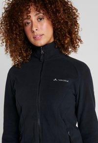 Vaude - ROSEMOOR  - Fleece jacket - black - 3