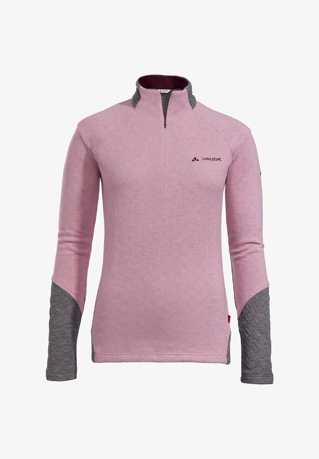 Fleece jumper - rose