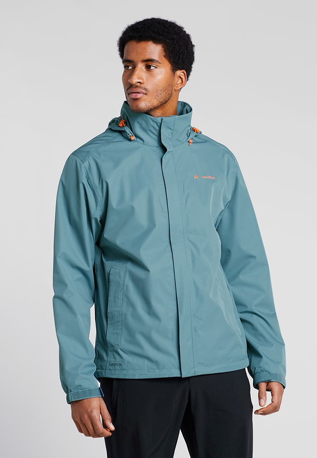 MENS ESCAPE LIGHT JACKET - Hardshell jacket - blue gray