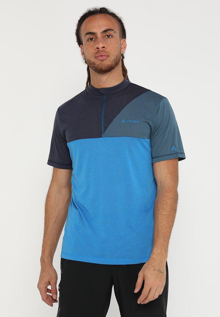 Vaude - TREMALZO IV - Print T-shirt - radiate/baltic