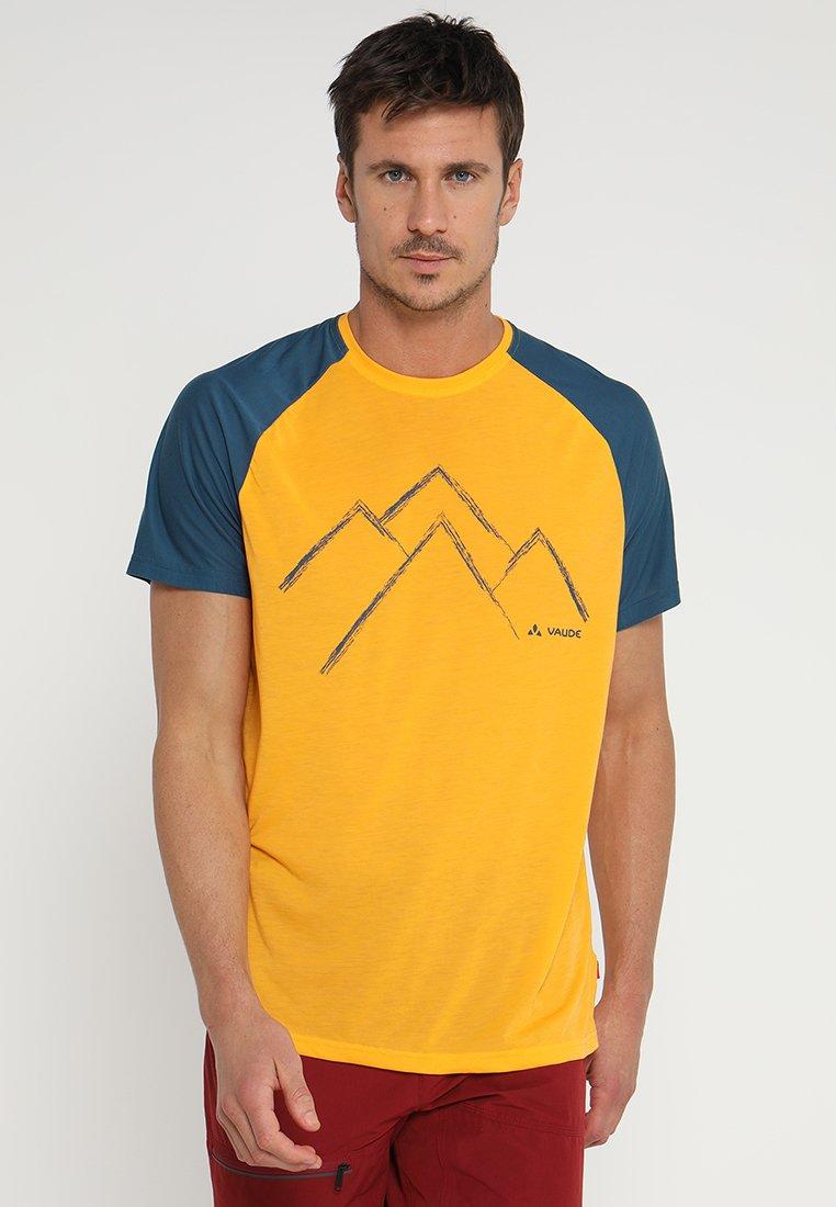 Vaude - ME TEKOA  - Print T-shirt - rock melone