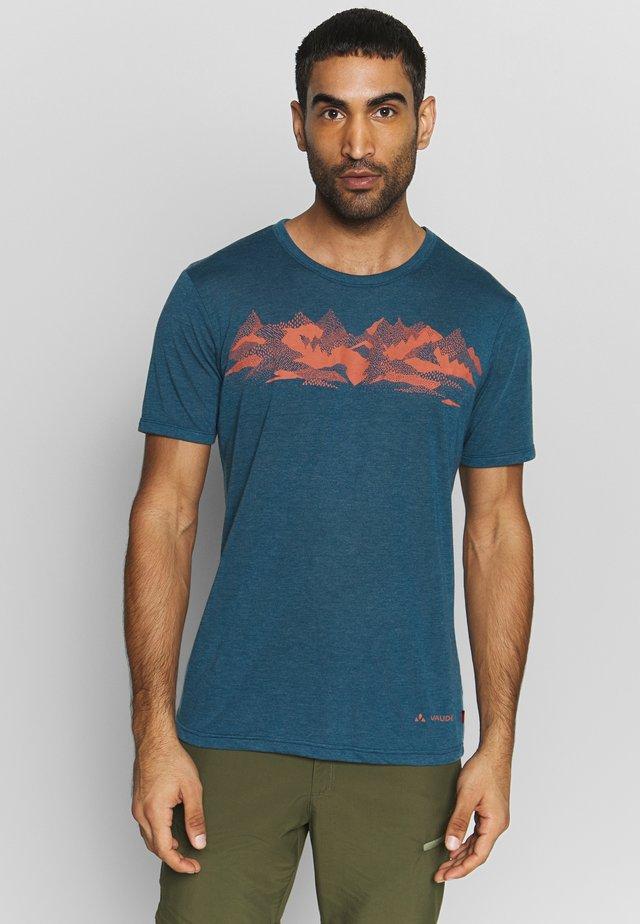 ME PICTON - Print T-shirt - baltic uni