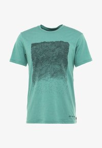 Vaude - ME CYCLIST  - T-Shirt print - nickel green - 5