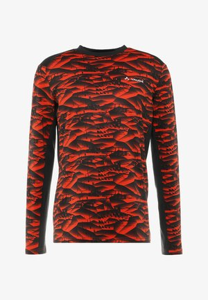 MENS VIRT SHIRT - Langarmshirt - mars red