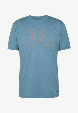 ME CYCLIST  - T-shirt z nadrukiem - blue gray