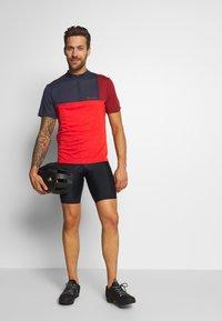 Vaude - ME TREMALZO - Print T-shirt - mars red - 1
