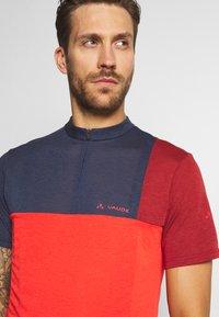 Vaude - ME TREMALZO - Print T-shirt - mars red - 4