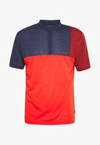 Vaude - ME TREMALZO - Print T-shirt - mars red - 3
