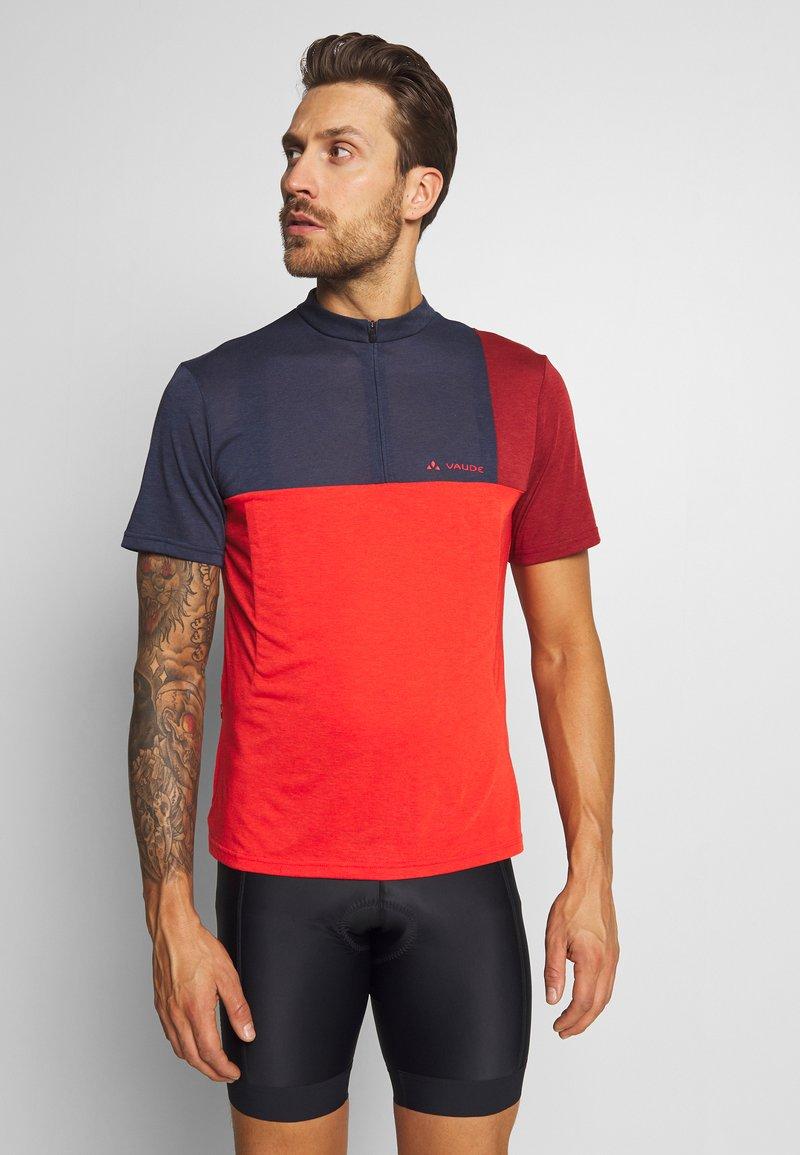 Vaude - ME TREMALZO - Print T-shirt - mars red