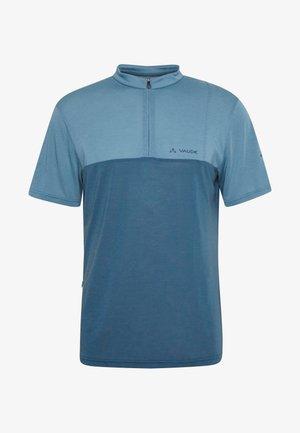 ME TREMALZO - Print T-shirt - blue gray