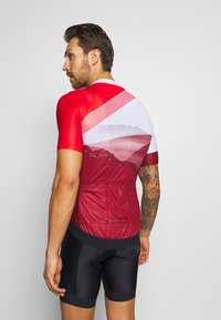 Vaude - ME MAJURA TRICOT  - T-Shirt print - mars red - 2