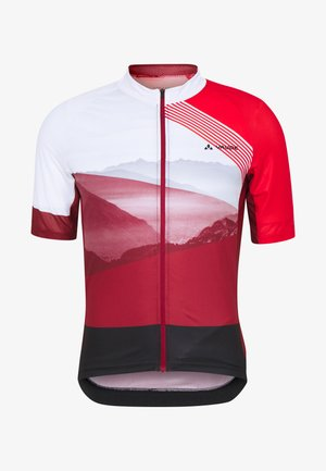 ME MAJURA TRICOT  - T-Shirt print - mars red