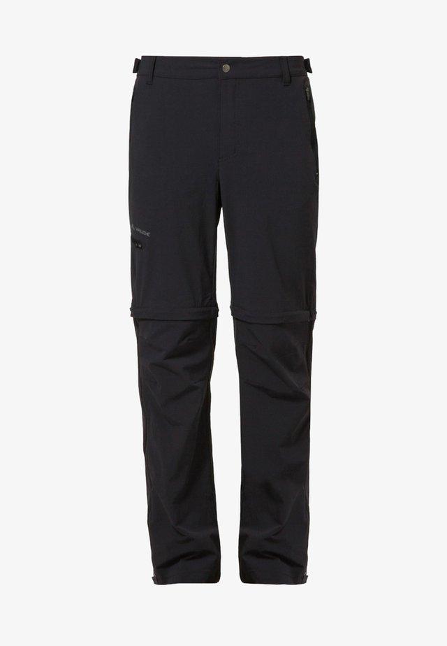 FARLEY - Długie spodnie trekkingowe - black