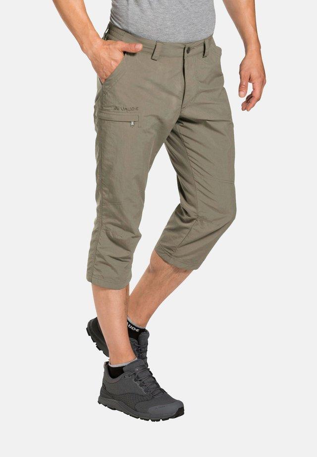 FARLEY - 3/4 sports trousers - muddy