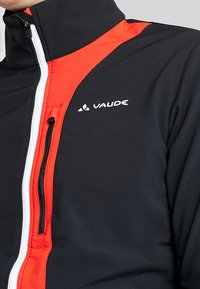 Vaude - VIRT SOFTSHELL JACKET - Softshelljacke - black/red - 4