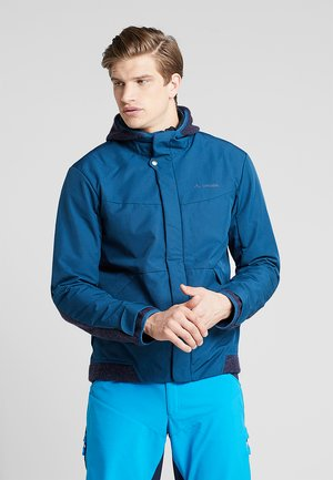MENS CYCLIST PADDED JACKET III - Softshelljacke - baltic sea