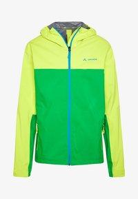 Vaude - ME MOAB RAIN JACKET - Regenjacke / wasserabweisende Jacke - bright green - 5