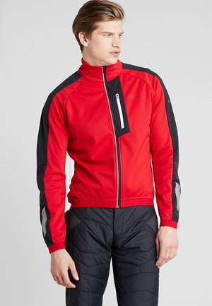 MENS POSTA JACKET V - Softshelljacke - indian red