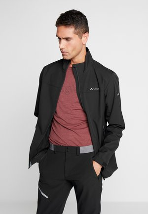 ME HURRICANE JACKET IV - Softshelljas - black