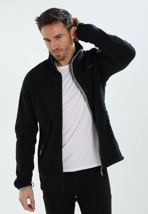 MENS SMALAND JACKET - Fleecová bunda - black uni