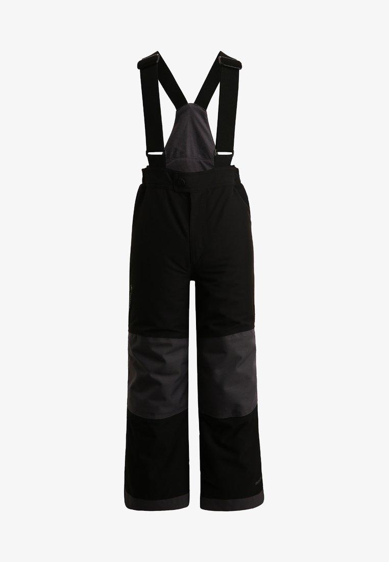 Vaude - KIDS SNOW CUP PANTS - Pantaloni da neve - black