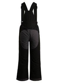 Vaude - KIDS SNOW CUP PANTS - Pantaloni da neve - black - 1