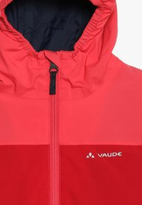 Vaude - KIDS ESCAPE 3IN1 JACKET - Outdoorjakke - bright pink - 4