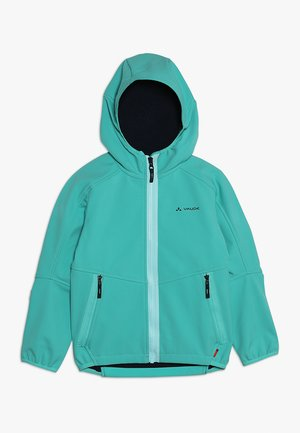KIDS RONDANE JACKET III - Soft shell jacket - peacock