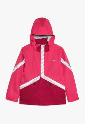 KIDS LUMINUM JACKET - Regnjakke - bright pink