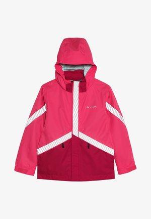 KIDS LUMINUM JACKET - Vodotěsná bunda - bright pink