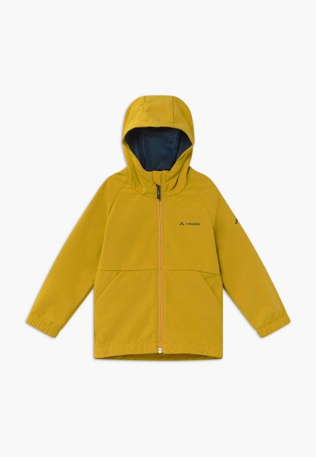 KIDS KINICH - Softshellová bunda - marigold