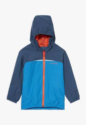 KIDS TURACO II - Waterproof jacket - radiate blue