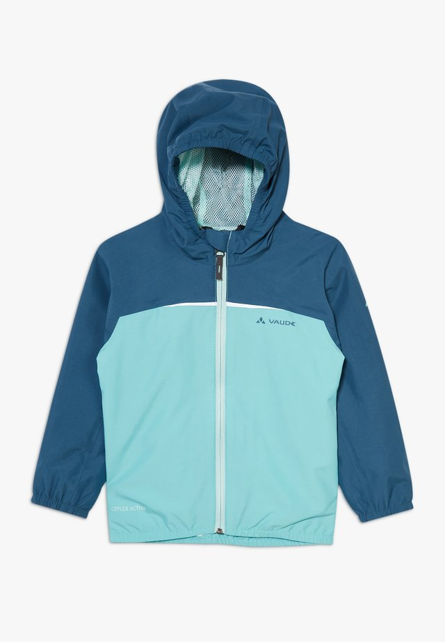KIDS TURACO II - Waterproof jacket - lake