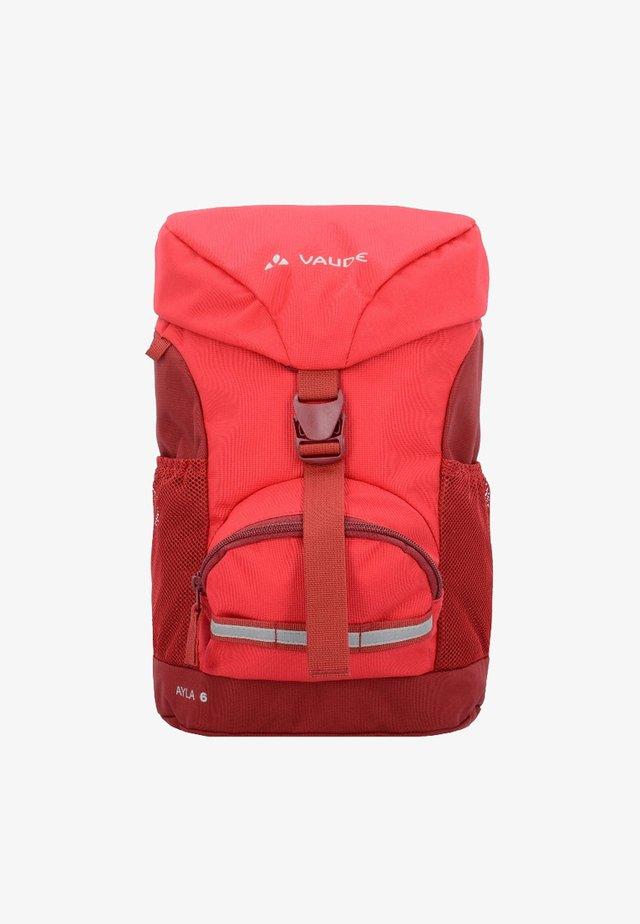 AYLA 6 - Tagesrucksack - red