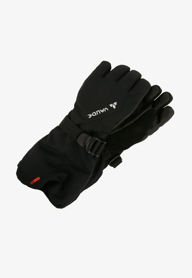 KIDS SNOW CUP GLOVES - Sormikkaat - black