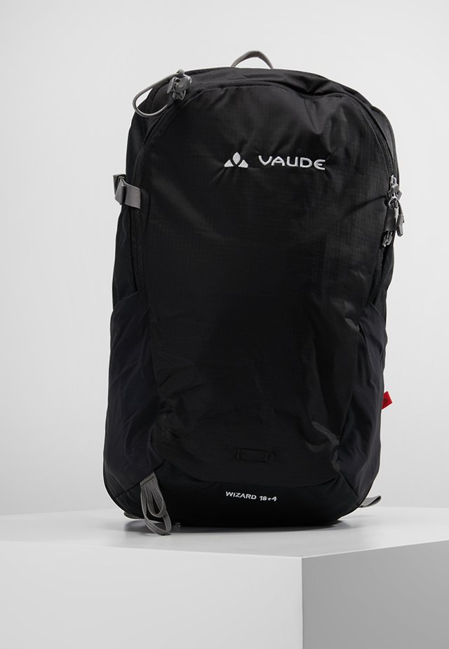 WIZARD 18+4 - Hiking rucksack - black