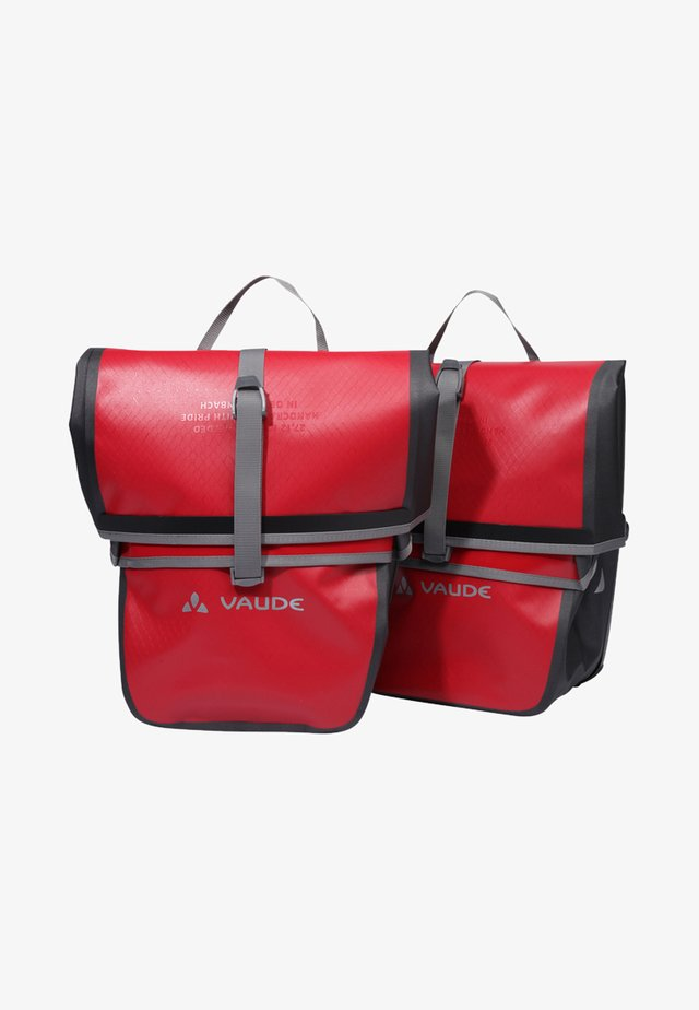 AQUA BACK - Across body bag - indian red