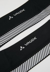 Vaude - LUMINUM ARM WARMER - Ocieplacze na ręce - black - 4