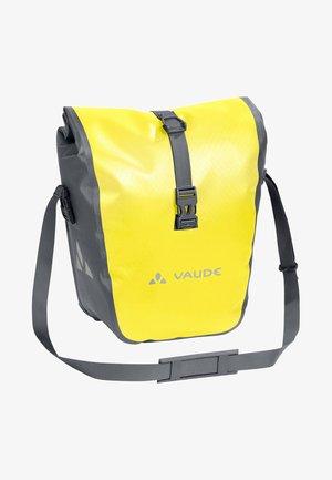 AQUA FRONT - Sports bag - yellow