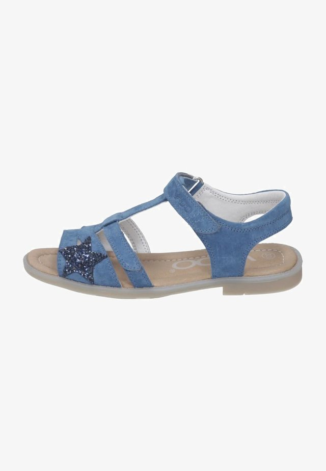 Sandals - true blue